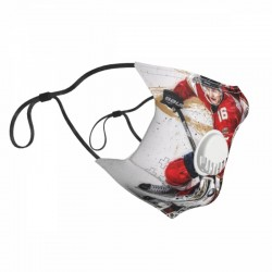 Dainty NHL Florida Panthers Child Face masks with breathing valve #308546 With Replaceable Activated Carbon Filters