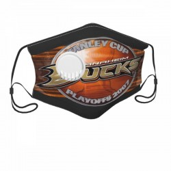 Good Quality NHL Anaheim Ducks Child Face masks with breathing valve #294716 With valve Protect in Children's Dust mask