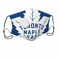 Standard Toronto Maple Leafs Child Face masks with breathing valve #305584 breathable and Replaceable filters